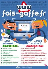 L'affiche fais-gaffe.fr